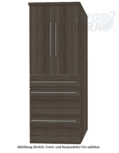 Crescendo Puris (HNA096A7M Bathroom High Cabinet 60 CM