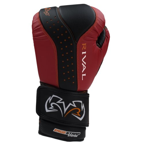 Rival RB10 Boxing / MMA Bag Gloves Featuring d3oTM Intelligent Shock Absorption Technology - RED/Black LARGE