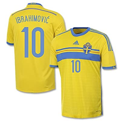 Sweden Home Ibrahimovic Jersey 2014 / 2015 - M
