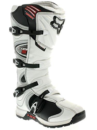 Fox White Comp 5 MX Boot