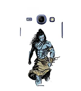 printtech Lord God Shiva Design Back Case Cover for SAMSUNG Galaxy J7 - 6 (New 2016 Edition)
