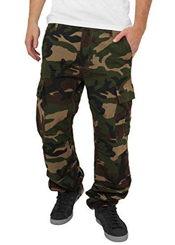 Urban Classics pantaloni Camouflage Cargo Pants, Wood Camo wood camo 38