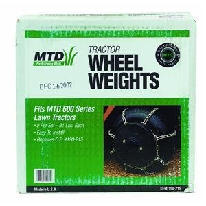WHEEL WEIGHT 62# OEM-190-215 (Discontinued by Manufacturer) image
