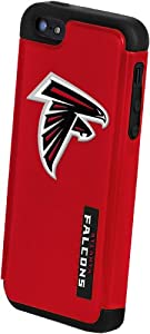 Forever Collectibles Atlanta Falcons Rugged Dual Hybrid Apple iPhone 5 & 5S Case by Forever Collectibles