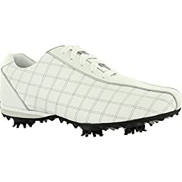 FootJoy LoPro Collection Golf Shoes 2015 Ladies CLOSEOUT White/Pearl/Silver Medium 8
