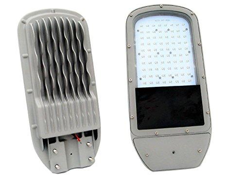 ECO-WORTHY 50W 24V Solar Powered Street Light LED Lamp Highlight Outdoor Path Lighting