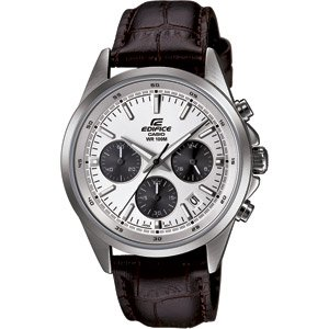 Casio EFR-527L-7AVUEF Mens Edifice Silver Steel Bracelet Watch