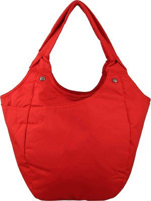 Fastrack Polyester Handbag A0316NRD01AB - For Women (Red)