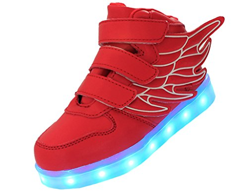 ERUPTWORLD-Wings-Kid-Boy-Girl-Fashion-Light-Up-Sneakers-USB-Charging-Shoes-with-Led
