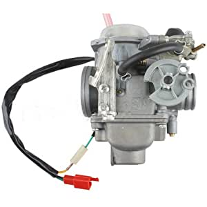 Carburetor w electric choke for 250cc mopeds scooters 250 cc go karts
