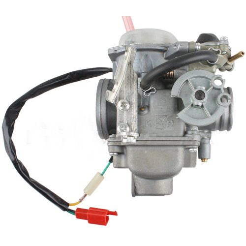 Promax 30Mm Carburetor W/Electric Choke For 250Cc Mopeds Scooters 250 Cc Go Karts Dune Buggy Sandrail Carb Roketa Taotao Jonway Nst Tank Bms Dongfang Supermach Znen Baron