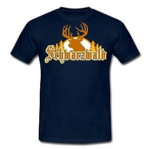 Spreadshirt Herren Schwarzwald T-Shirt