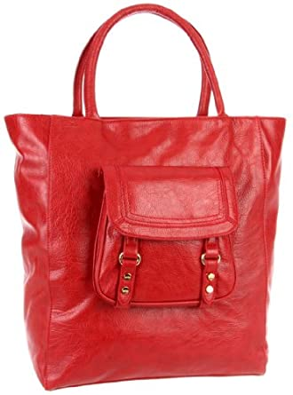 Co-Lab by Christopher Kon Morgan 1263 Tote,Red,One Size