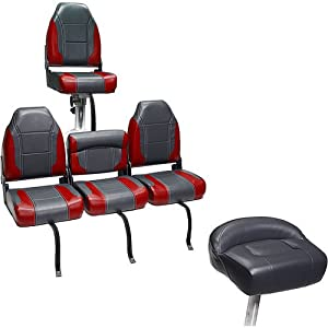 Deckmate Bass Boat Bench Seats 51 Interior Charcoal
