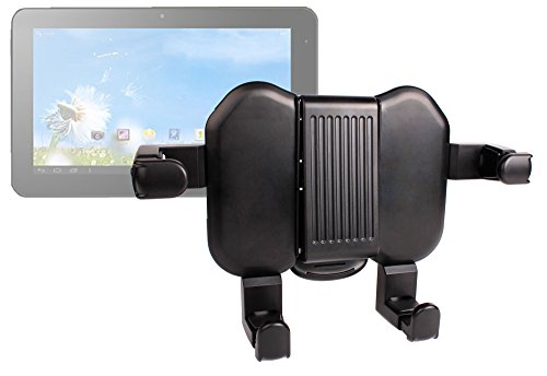 Duragadget Extendable Car Headrest Mount For Sunstech Tab107Qcbt, Asus Vivotab Note 8 (M80Ta) & Asus Transformer Book Trio
