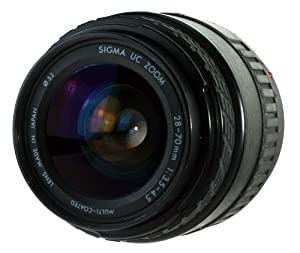 Sigma 28-70mm f/3.5-4.5 UC Zoom Lens for Canon AF