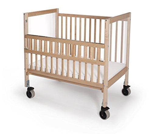 Whitney Bros - Infant Clearview Folding Rail Evacuation Crib