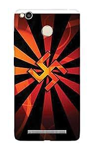 ZAPCASE Printed Back Cover for XIAOMI REDMI 3S PRIME