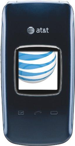 Pantech Breeze II Cell Phone Blue AT&T