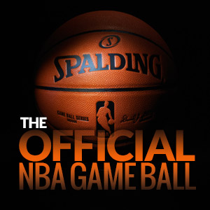 Official NBA Game Ball by Spalding