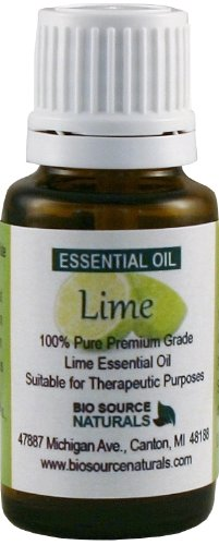 Lime (Citrus Aurantifolia) Pure Essential Oil 15 Ml / 0.5 Oz - Aromatherapy