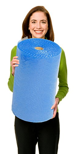"""EcoBox Biodegradable Bubble Wrap with 3/16"""", 24"""" x 100', Small Bubbles (V-10017)"""