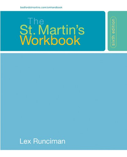 The St. Martin's Workbook