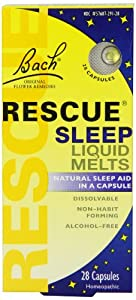 Rescue Sleep Liquid Melts 28 count