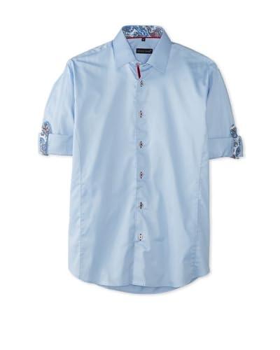 Jared Lang Men's Solid Long Sleeve Shirt