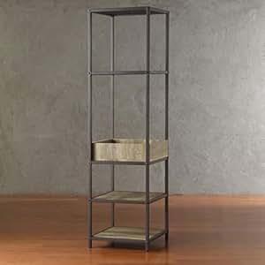 Amazon.com: New Modern Industrial Book Shelf Tall Shelves