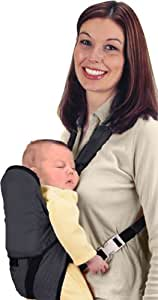 Jolly Jumper - Snuggler Baby Carrier Black