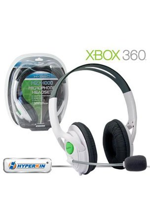 Xbox 360 Stereo Mzx-1000 Headphone Headset Communicator With Mic