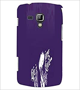 PrintDhaba Quote D-2894 Back Case Cover for SAMSUNG GALAXY S DUOS S7562 (Multi-Coloured)