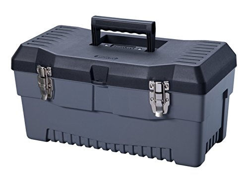 Stack-On PB-19 19-Inch Pro Tool Box, Black/Gray (Trades Pro Tools compare prices)