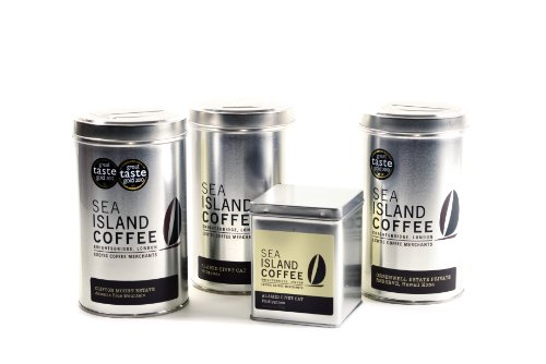 Sea Island Coffee Collection - Jamaica Blue Mountain, Hawaii Kona, Kopi Luwak Coffee Gift Sets - Whole Bean