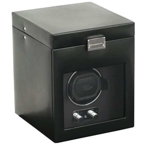 Wolf Designs 270302 Heritage Module 2.1 Single Watch Winder with Cover and Storage