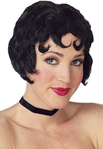[Woman's Betty Boop Costume Wig] (Betty Boop Wig)