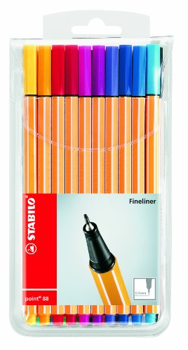 stabilo-fineliner-assorted-color-04mm-pack-of-20-pieces-11sta8820-pack-of-20-pieces-comes-in-a-plast