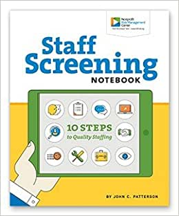 Staff Screening Notebook