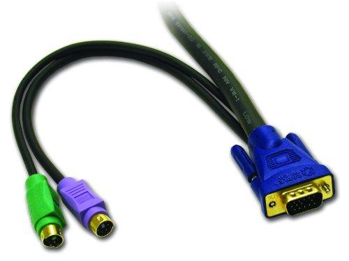 Keyboard / Video / Mouse (Kvm) Extender - 6 Pin Ps/2, Hd-15 (M) - 6 Pin Ps/2, Hd