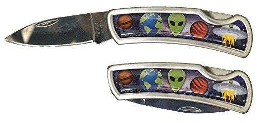 Alien Galaxy Pocket Knife