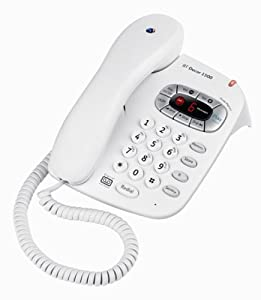 BT Decor 1500  Corded Telephone With Answering Machine