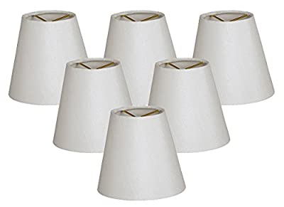 Royal Designs Hardback Empire White Chandelier Lamp Shade