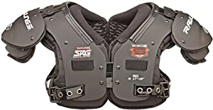SGE1 RAWLINGS SIEGE SKILL POSITION SHOULDER PADS ADULT MEDIUM by Rawlings