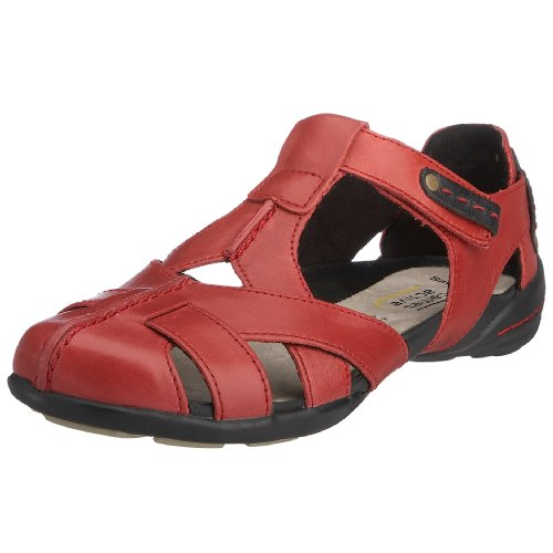 Camel Active Women's Maria Sandal Red Sportcalf