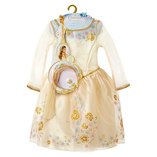 Disney Cinderella Ella's Wedding Dress Girls Costume Set for Age 3+ (Size 4-6x)