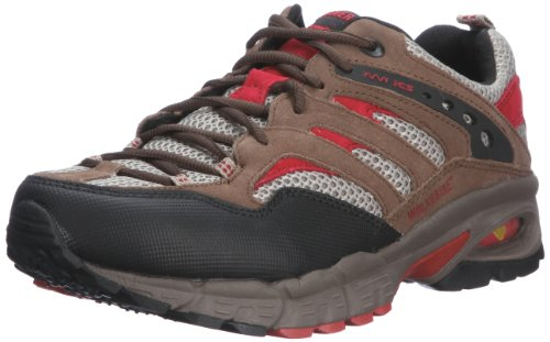 Wolverine Men's Hatch Hiking Shoe Gunsmoke/Scarlet 6841 12 UK