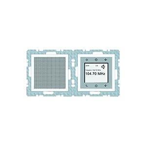 Berker Radio Touch pws 28809909 matt B.1;B.3;B.7;GLASSERIE;S.1 Gerät für Installationsschalterprogramme 4011334345619  BaumarktBewertungen und Beschreibung