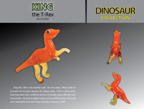 Looking Glass Figurines King The T-Rex Toy - 1