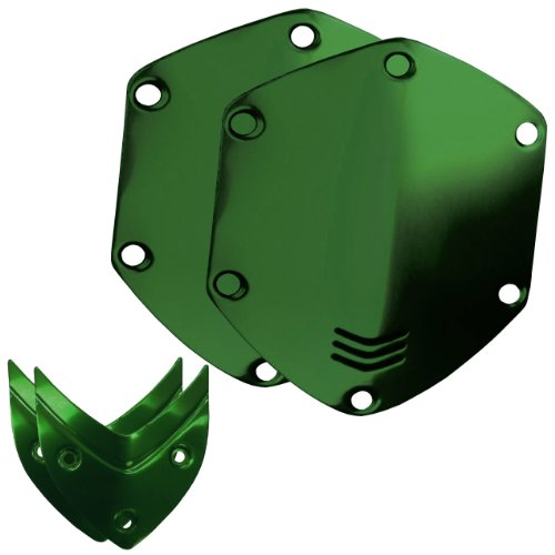 V-Moda Crossfade Over-Ear Headphone Metal Shield Kit (Hawk Green)